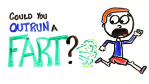 Kann man einem Furz davonrennen?