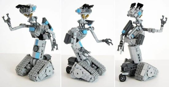 Robot Johnny Five could soon come out as an official Lego set