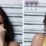 As people after 1, 2 and 3 Glasses look wine