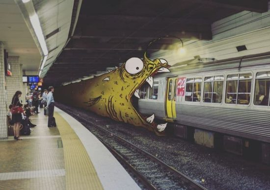 I Add Monsters To Everyday Life To Make It More Fun