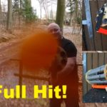 Ping Pong Hailstorm: Large fully automatic Gatling Gun Schleuder
