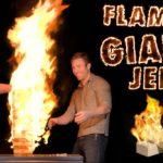Playing with Fire: Giant Jenga