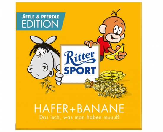 Pferdle ve Äffle Ritter Sport
