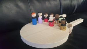 Star Trek Wooden Toy