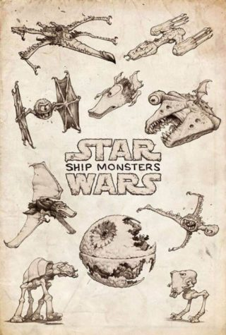 The Ship Monsters of Star Wars