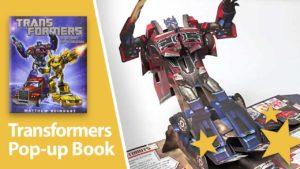 Transformers - The Ultimate Pop-Up Universe: Mer enn møter øyet