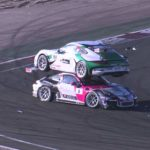 Crazy accident can stack the two racing cars