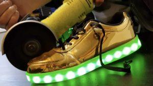 Comment une chaussure LED?