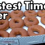 12 donuts in 30 inhaleren seconden