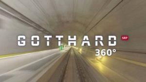 360° Gotthard Tunnel Durchfahrt
