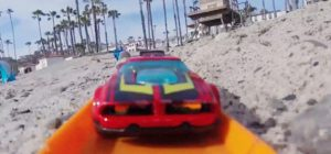 Hot Wheel Racing aus der First Person View (POV)