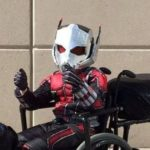 The Ant-Man probably most innovative Cosplay ever