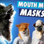 Bizarre Mouth Mover Tier Masken