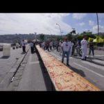 Den längsta pizza i världen