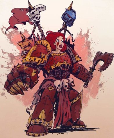 Disney Princesses in Warhammer universe