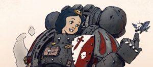 Princesas de Disney en el universo de Warhammer