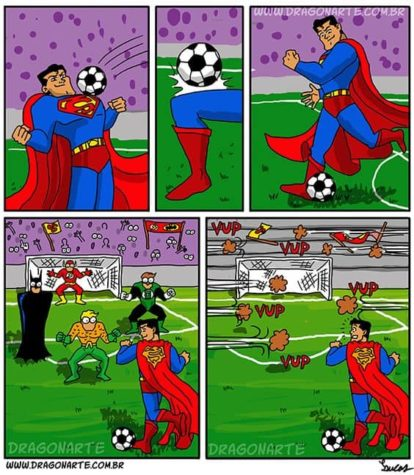 Football Championship of superheroes