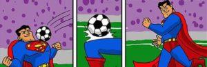 Fussball-Meisterschaft der Superhelden