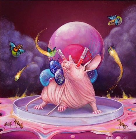 Surrealistyczne obrazy Hannah Faith yata