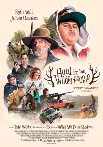 Hunt For The Wilderpeople - juliste