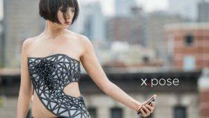 Kleid wird transparent, wenn man etwas im Social Web teilt