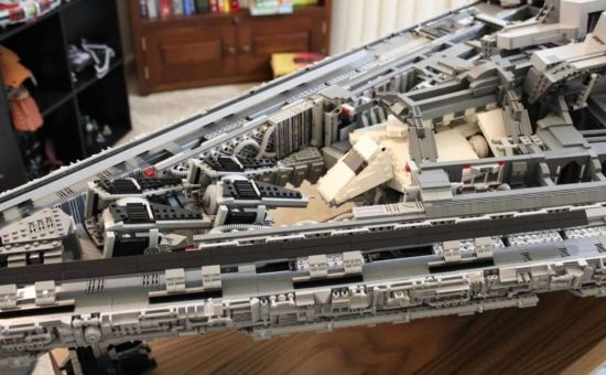 Lego Star Destroyer: El tirano ISD