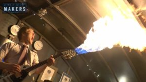 Mad Max Flamethrowing Guitar selbstgemacht