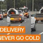 Recentemente na Austrália: Queimando forno de pizza na estrada