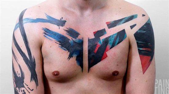 Pain Ting: Tätowierte Kunst am Körper