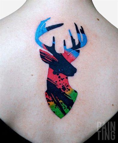 Pintura: arte do corpo tatuado