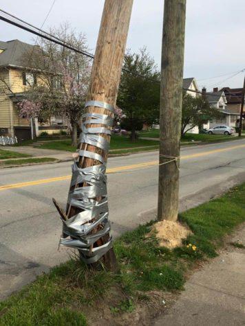 Con cinta adhesiva puede arreglar cualquier cosa