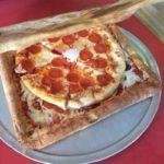 Pizza, livré dans une boîte à pizza Pizza