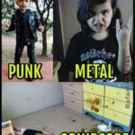 The difference between punk, Metal and Grindcore