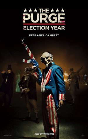 O Purge 3: Election Year –  Poster