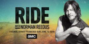 """Poster zur neuen Motorrad-Serie mit """"The Walking Dead""""-Star Norman Reedus"""