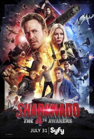 Sharknado: 4. Awakens - Plakat