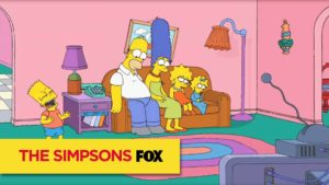 Simpsons Disney-Style Couch Gag