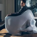 A skull-chair for the inner villain in you