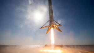 Spektakuläres 360° Video einer SpaceX Landung