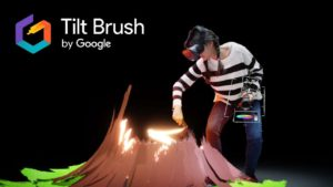 Tilt Brush: Virtual Reality tegneprogram Google