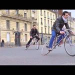 Trocadero Fixie: The bicycle with the movable frame