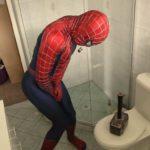 Cuando Thor hombre araña juega una broma