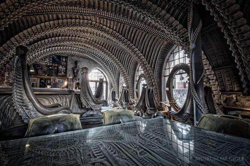 H R Giger Bar Im H R Giger Museum Dravens Tales From