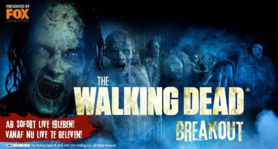 The Walking Dead Breakout: Zombies experiência no Movie Park Germany ao vivo!