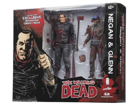 New TWD action figures: Negan proposes Glenn head a