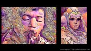 AI-Moebius Drömma av Jimi Hendrix