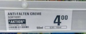Den enda sanna anti-wrinkle cream