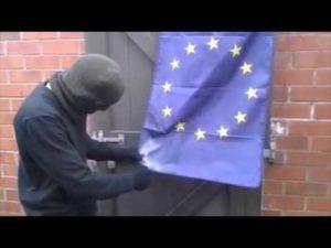 Brexit: EU-Brandschutznorm verhindert das Abbrennen der EU-Flagge