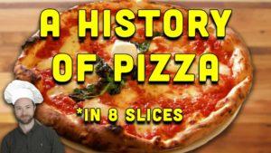 Die Geschichte der Pizza in acht Stücken