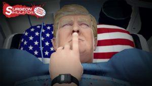 Donald Trump Surgeon Simulator